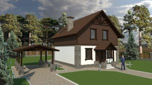 Проект дома в Бресте