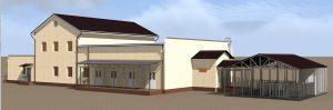 Проект здания Брест