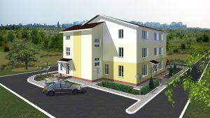 Проект административного здания. Деревня Ямно (Брестский район)